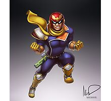 Captain Falcon Photographic Print