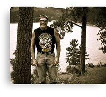 Deerfield Lake in South Dakota 2012 Canvas Print