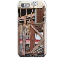 Boarded up ... Bali  iPhone Case/Skin