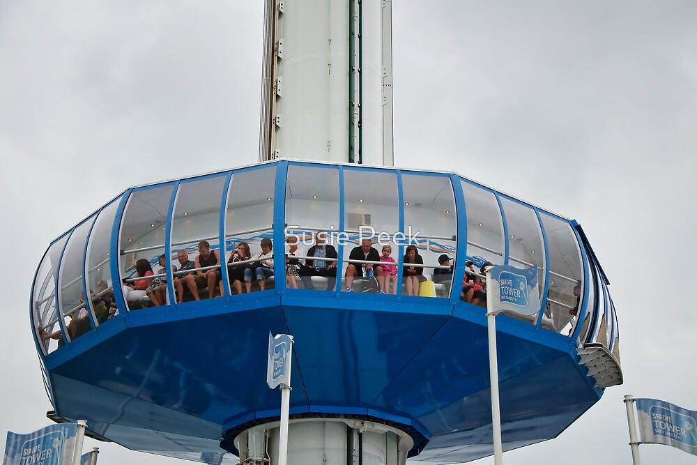 Sea Life Tower ~ Weymouth by Susie Peek