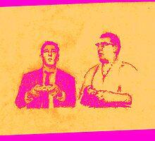Ronnie & Reggie & their Xbox 360 by borstal