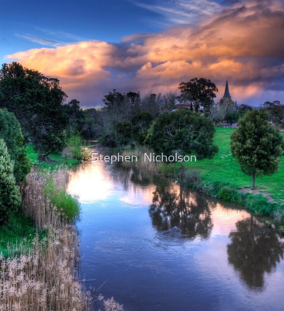 Afternoon Shower over Richmond by Stephen  Nicholson