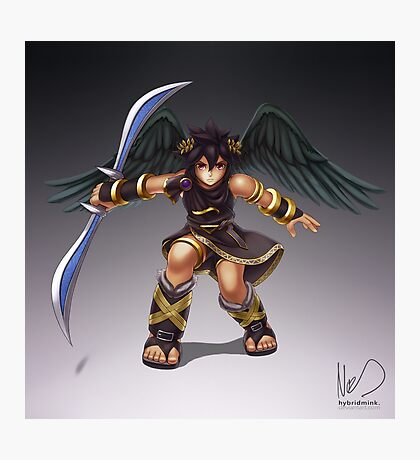 Dark Pit Photographic Print