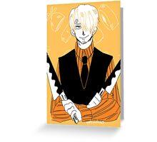 water 7 sanji Greeting Card