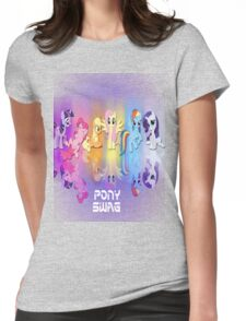Pony Swag Womens Fitted T-Shirt
