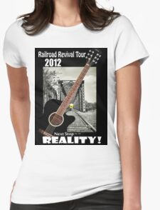 Railroad Revival Tour 2012 Womens Fitted T-Shirt