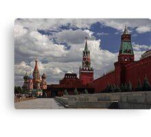 Kremlin. Red Square. Canvas Print