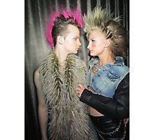 punk love Photographic Print