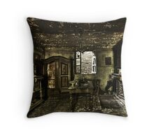 GHOST DINER Throw Pillow