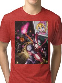 Zero and Pantheons Tri-blend T-Shirt