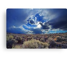 The Pre-Sunset Canvas Print