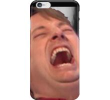 David Mitchell Hysterical Laugh iPhone Case/Skin
