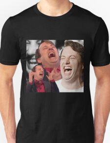 David Mitchell Hysterical Laugh Unisex T-Shirt