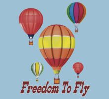 Freedom To Fly .. tee shirt Kids Clothes