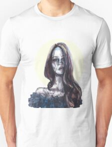mixed media portrait T-Shirt
