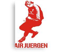 The Air Juergen Klopp Tees Canvas Print