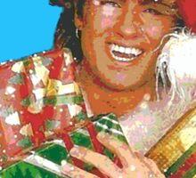 Wham Christmas Sticker