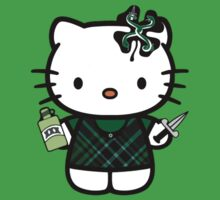 Irish Hello Kitty - Flogging Molly by Alex Magnus
