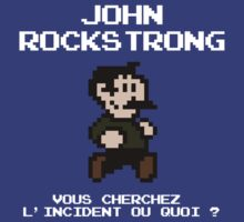 John Rockstrong by Gwendal