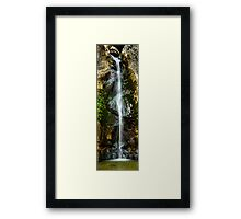Waterfall Long Framed Print