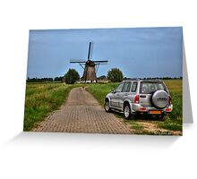 Going Dutch ..the Inspector... Greeting Card