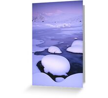 Rannoch Moor & the Black Mount Greeting Card