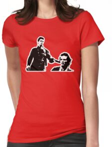 Mad Max And Johnny The Boy Womens Fitted T-Shirt