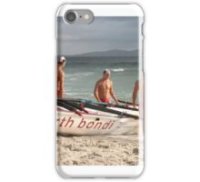 Bondi boys contemplation iPhone Case/Skin