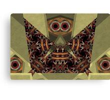 Barnsley Owl Pictograph Canvas Print