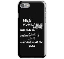 Wifi Code iPhone Case/Skin
