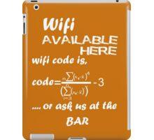 Wifi Code iPad Case/Skin