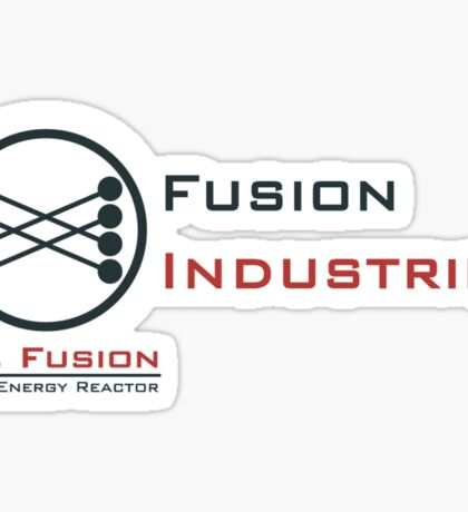 Mr. Fusion / Fusion Industries Sticker