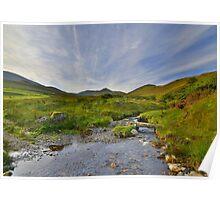 The Lake District: Barkbeth Gill Poster