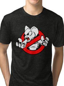 GB: Australia Drop Bear (red) Tri-blend T-Shirt