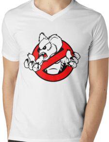 GB: Australia Drop Bear (red) Mens V-Neck T-Shirt