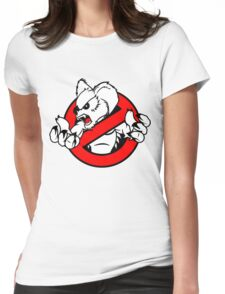 GB: Australia Drop Bear (red) Womens Fitted T-Shirt
