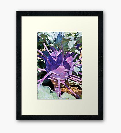 Odd Vegetable Framed Print
