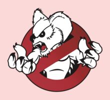 GB: Australia Drop Bear (red) Logo v2 Kids Clothes