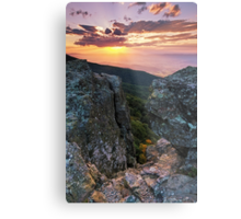 Autumn Sneak Peek - Shenandoah National Park, VA Metal Print