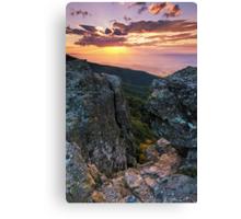 Autumn Sneak Peek - Shenandoah National Park, VA Canvas Print