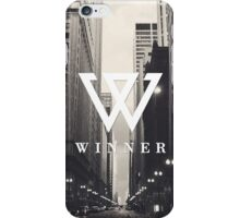 Aesthetic Minimalistic Black and White Street Winner Kpop iPhone and Samsung Phone Case iPhone Case/Skin