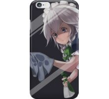 Let Me Clean That For You: Sakuya Izayoi iPhone Case/Skin