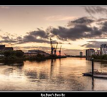 Under the Setting Sun || I Heart Glasgow by Anir Pandit