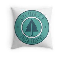 Girl from the North Country Fair Throw Pillow