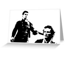 Mad Max And Johnny The Boy Greeting Card