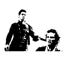 Mad Max And Johnny The Boy Photographic Print