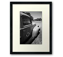 Route 66 Pickup Truck Framed Print