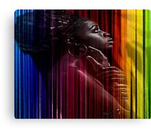 THE COLORS OF OYA Canvas Print