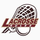 Lacrosse Rules by SportsT-Shirts