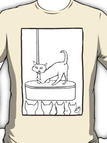 Cat Stripper Fun T-Shirt